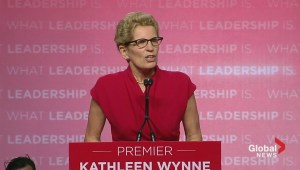 Ontario Election: Kathleen Wynne delivers victory speech
